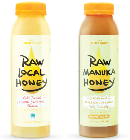 Deluxe Honeydrop Cold-Pressed Juice Beverages