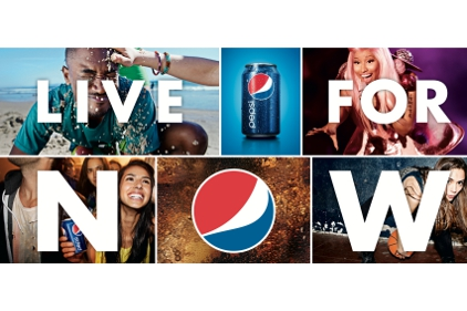 Pepsi Live for Now campaign