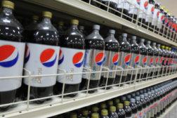Pepsi 20-ounce bottles