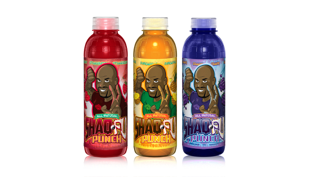 ShaqFu three bottles