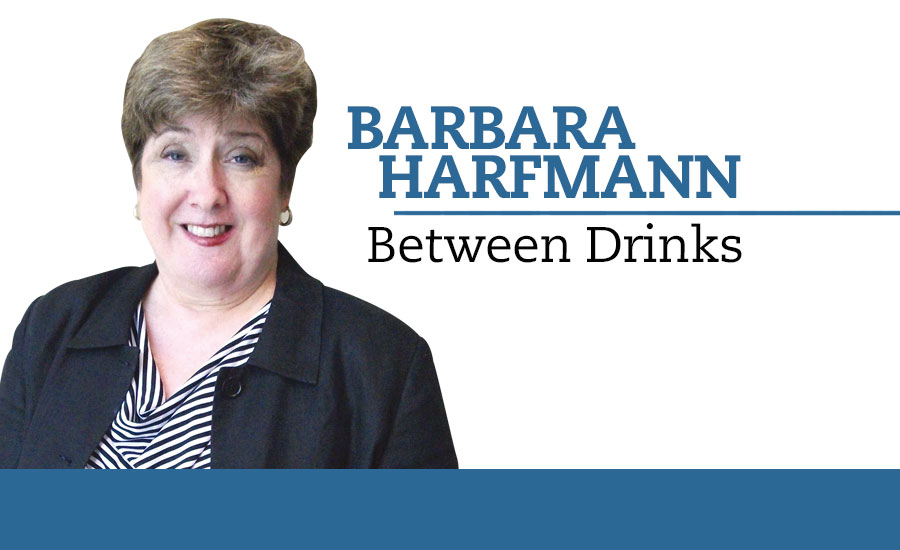 Barbara Harfmann, Between Drinks column