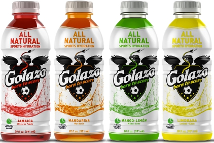 Golazo All Natural Sports Hydration