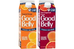 GoodBelly Tropical Orange and Pink Grapefruit
