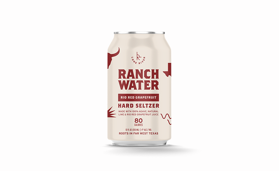 Lone River Rio Red Grapefruit Ranch Water
