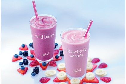 McDonalds Smoothies