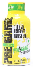 Pregame: The Anti Hangover Energy Shot
