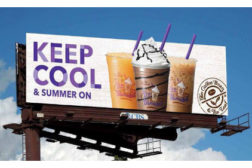 Coffee Bean & Tea Leaf billboard