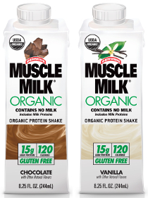 Can You Drink Muscle Milk With Milk
