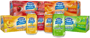 Nestle Pure Life Exotics