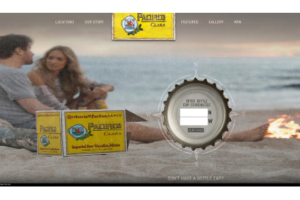 Pacifico Yellow Caps campaign
