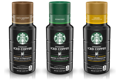 Starbucks Iced Coffee Brewed to Personalize
