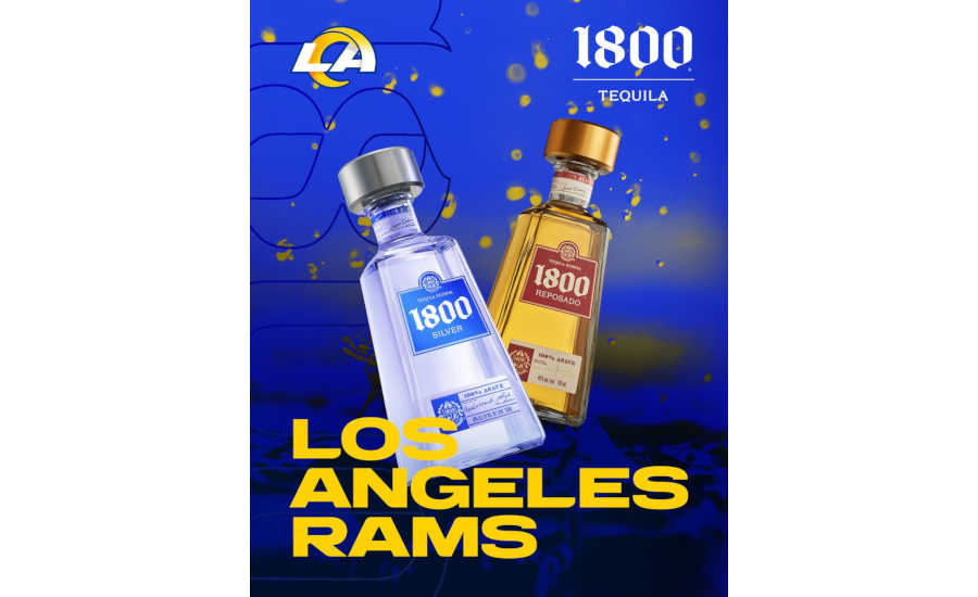 1800 Tequila, Los Angeles Rams team up