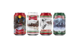 Budweiser Holiday Cans