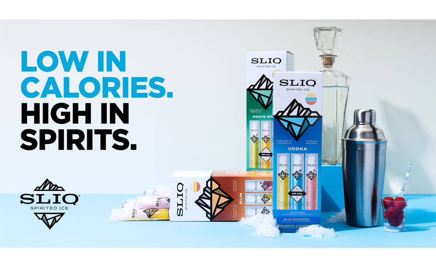 SLIQ Spirited Ice Available in Key Markets Nationwide