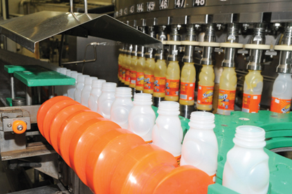 Sunny Delight's goal-oriented production process