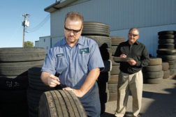 Scrap tire analysis can reduce costs