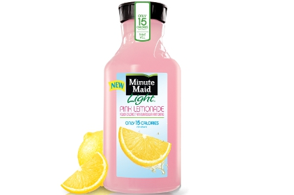 Minute Maid Light Pink Lemonade