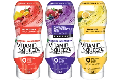 Vitamin Squeeze Powder Water Enhancer