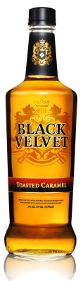 Black Velvet Toasted Caramel Flavored Whisky