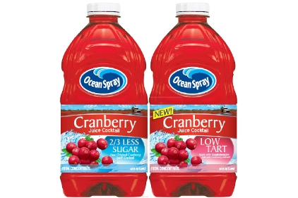 Ocean Spray Less Tart & 2/3 Less Sugar