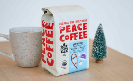 Peace Coffee Snowshoe