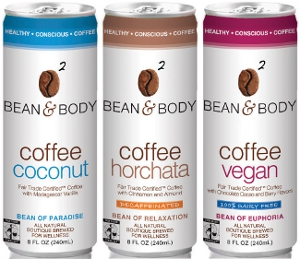 Bean & Body Coffee Vegan, Horchata and Coconut