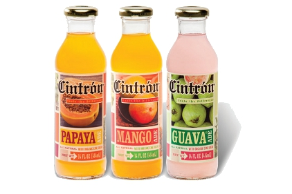Cintron Iced Teas and Fruit Ades