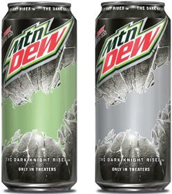 Mountain Dew partners with 'The Dark Knight Rises