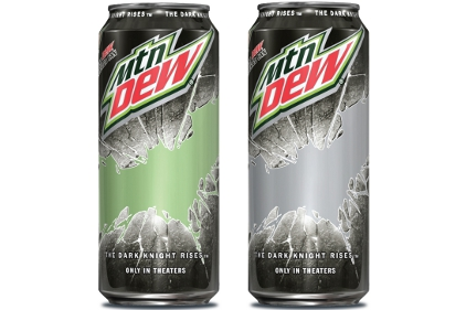 Mountain Dew partners with The Dark Knight Rises
