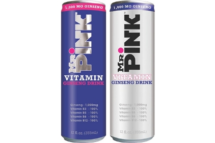 Mr. Pink Ginseng Drinks