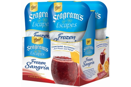 Seagram's Escapes Frozen Flavors