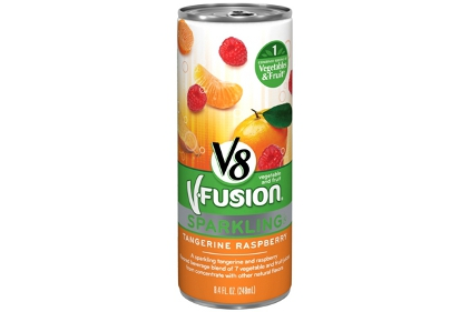 V8 V-Fusion Sparkling juice drinks