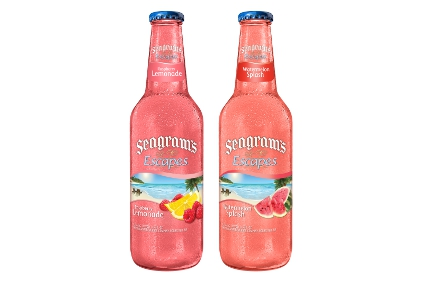Seagram's Escapes Raspberry Lemonade and Watermelon Splash