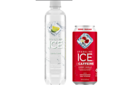 Sparkling Ice Coconut Limeade, Cherry Vanilla Caffeine