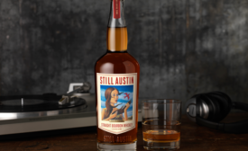 Still Austin straight bourbon whiskey