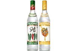 Stoli Hot and Stoli Sticki vodkas
