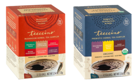 Teeccino Probiotic and Adaptogen Mushroom blends