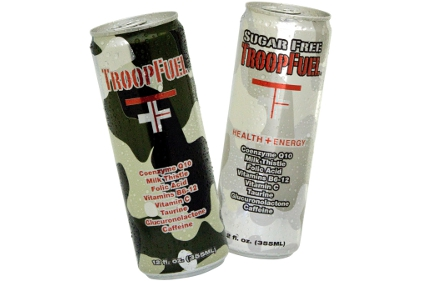 TroopFuel energy drinks