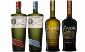 Uncle Val's Gin, La Pivon Vermouth