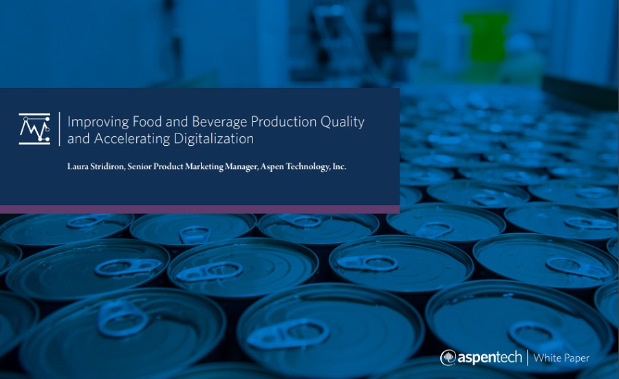Improving Food and Beverage Production Quality and Accelerating Digitalization