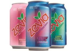 Zevia Strawberry, Cherry Cola and Lime Cola