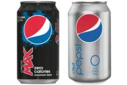 Diet Pepsi and Pepsi Max