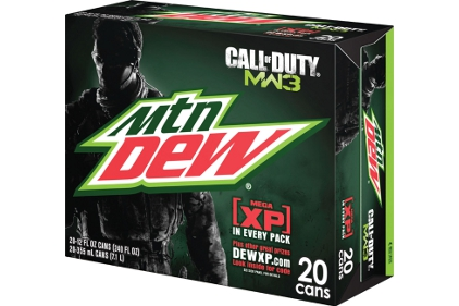 Mountain Dew Call of Duty Pack