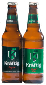 Kraftig and Kraftig Light beers