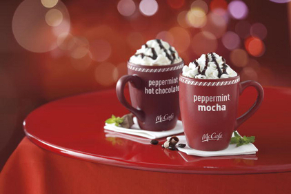 McDonald's adds seasonal beverages to McCafe line