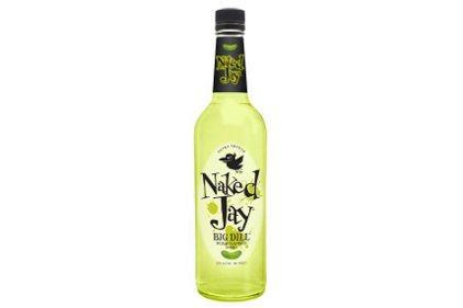 Naked Jay Big Dill pickle flavored vodka