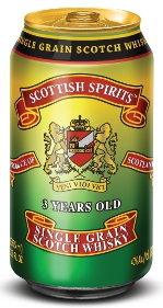 Scottish Spirits Single Grain Scotch Whisky