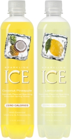 Sparkling Ice Lemonade and Coconut Pineapple