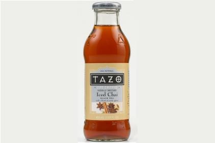 Zero Calorie Tazo Iced Chai   Beverage