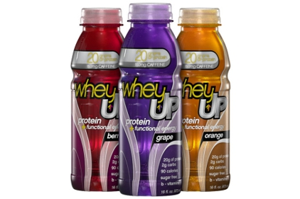 WheyUP Berry, Grape and Orange flavors